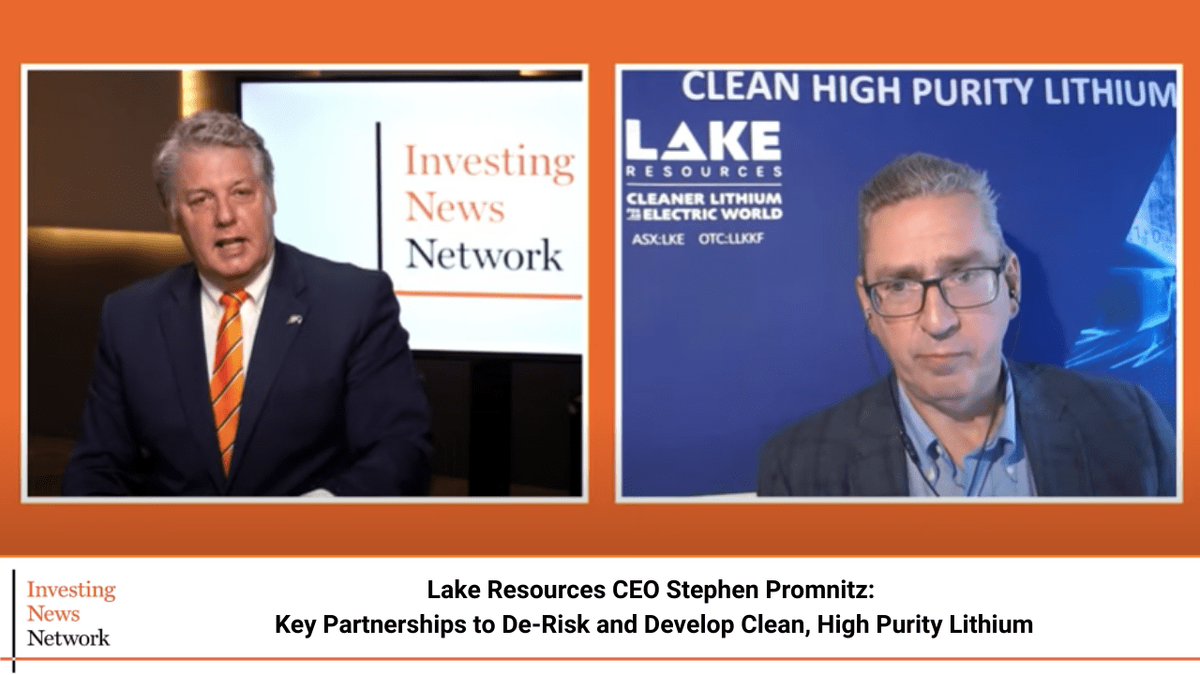 Lake Resources CEO: Key Partnerships to De-risk and Develop Clean, High-purity Lithium