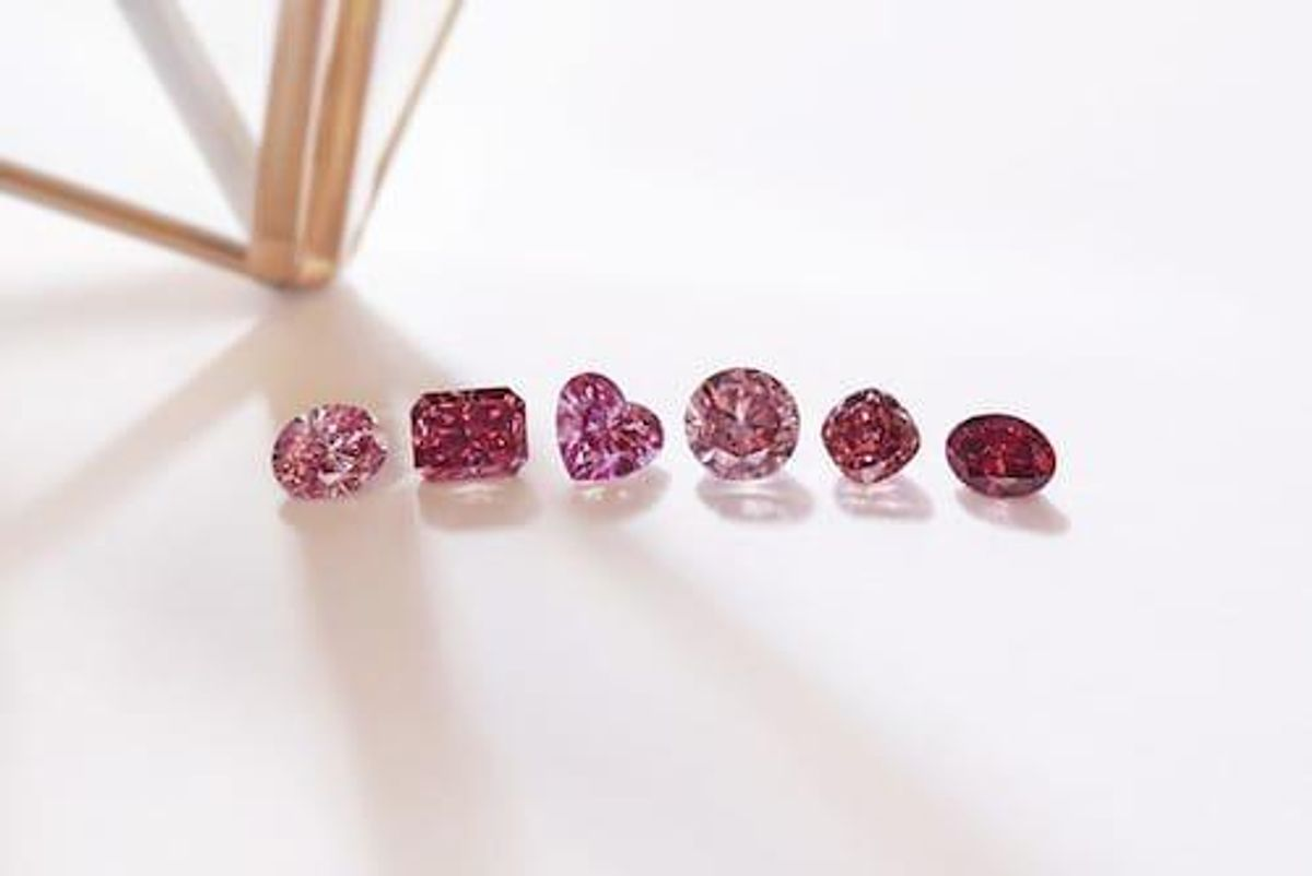 Rio Tinto Unveils Rare Tender of Red and Pink Diamonds