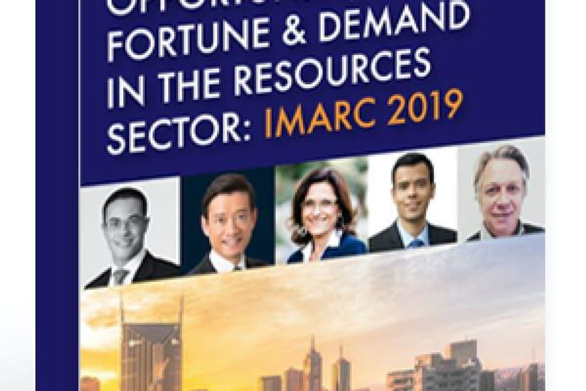 Archived – Opportunity, Fortune & Demand in the Resources Sector: IMARC 2019