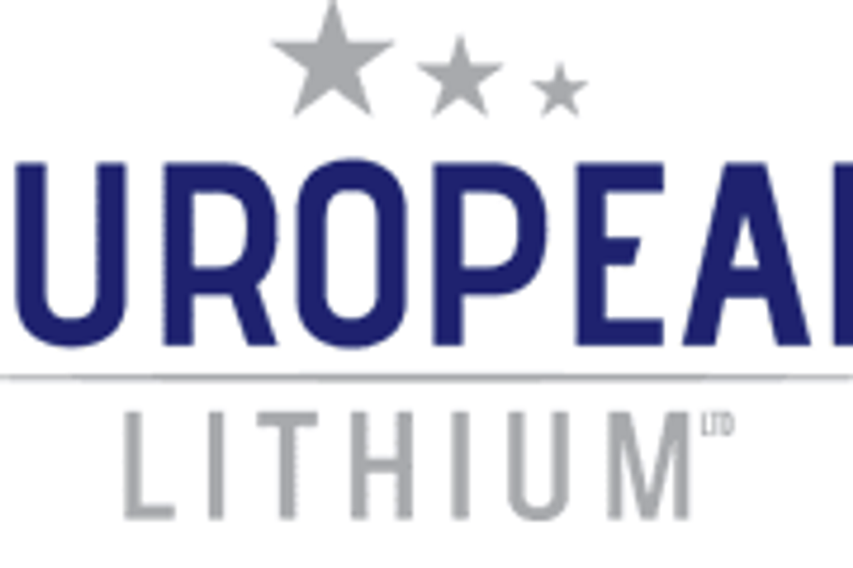 European Lithium Secures Initial Funds from Greenpeg, an Eu-commission Funded R&D Project to Support Raw Lithium Sourced from Europe